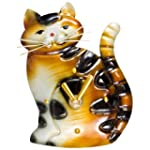 Decoflair - Cat Standing Magnet Clock
