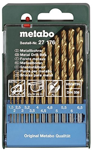 Metabo-27176-HSS-Twist-Drill-Set-(13-Pc)