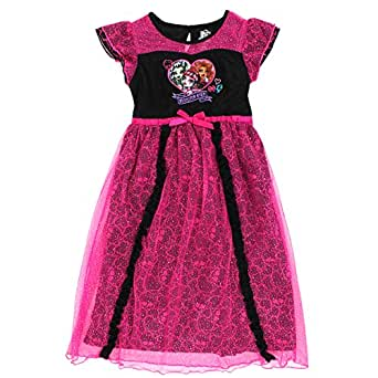 Monster High Girls Poly Nightgown Pajamas