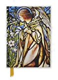 img - for Tiffany Angel Stained Glass Window (Foiled Journal) (Flame Tree Notebooks) book / textbook / text book