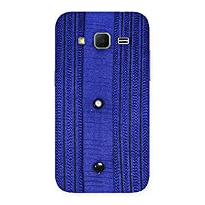 Royal Blue Sweat Print Back Case Cover for Galaxy Core Prime