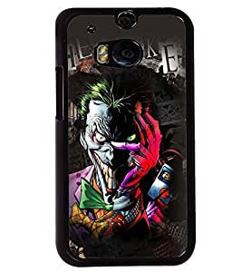 Printvisa Multicoloured Smiling Monster Back Case Cover for HTC One M8::HTC M8