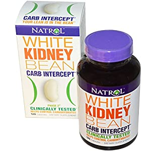 Natrol, Carb Intercept, Phase 2 White Kidney Bean, 120 Capsules - 2pc
