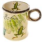 Stoneware Frog Mug