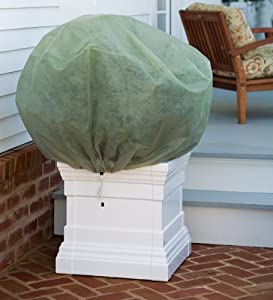 Amazon.com: Set of 2 Large Plant Covers with Double-Pull ...