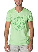 CANADIAN PEAK Camiseta Manga Corta Jalorie (Verde)