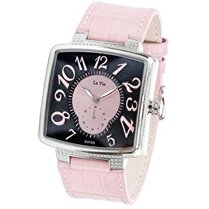 La Vie Midsize W253124DW Diamond Accented Watch