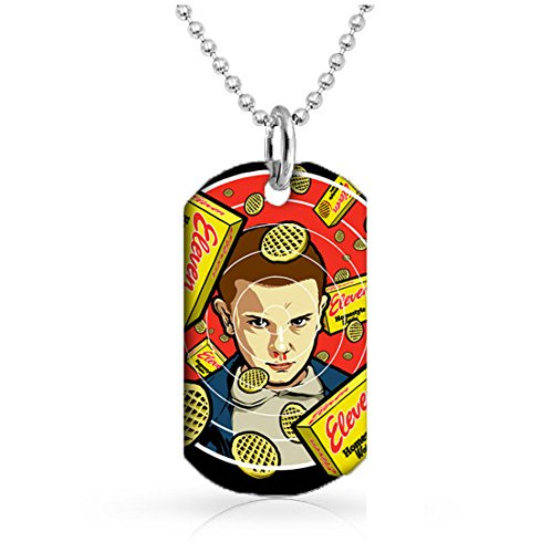 eleven-eggo-stranger-things-fandom-dog-tag-with-30-inch-ball-chain-included