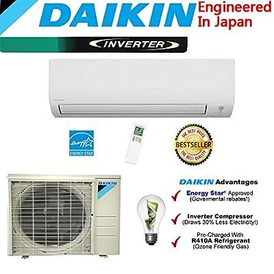 Daikin 18,000 BTU 220V/18 SEER Mini Split Inverter Air Conditioner