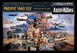 Axis and Allies Pacific 1940 2nd Ed