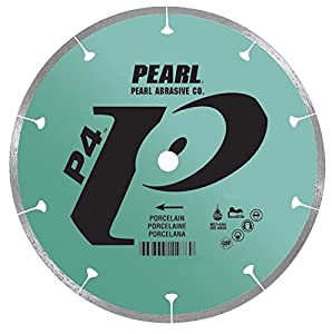 Pearl Abrasive P4 DTL10HPXL Tile and Stone Blade for Porcelain 10 x .060 x 5/8