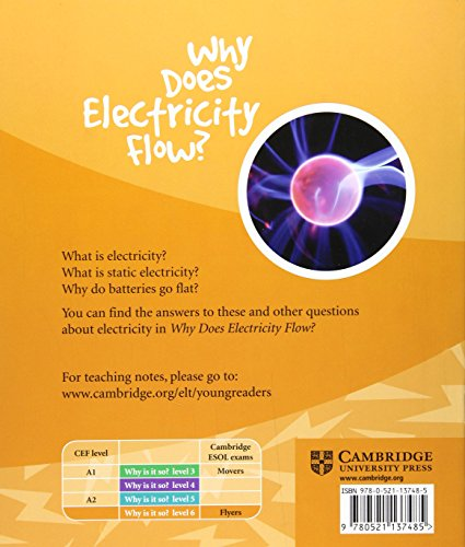 CYR6: Why Does Electricity Flow? Level 6 Factbook (Cambridge Young Readers)