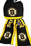 NHL Boston Bruins Knit NHL official Hoody Scarf NEW at Amazon.com