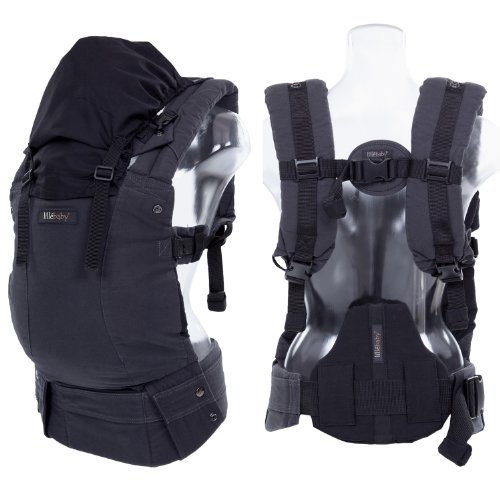 líllébaby COMPLETE Baby Carrier Original - Charcoal/Black