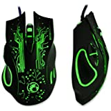 Iuhan 2400DPI LED Optical 6D USB Wired Gaming Game Mouse For PC Laptop Game