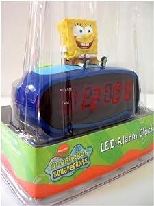 Amazon Com Nickelodeon Spongebob Squarepants Led Alarm