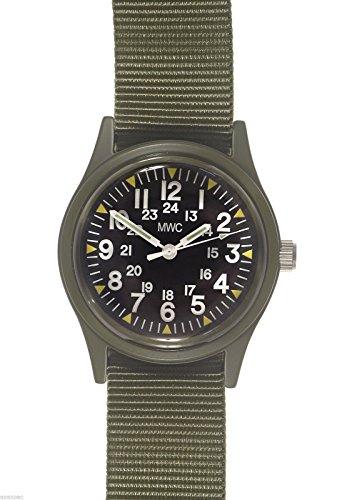 mwc-militar-estadounidense-1969-vietnam-era-campo-reloj-verde