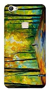 WOW Printed Designer Mobile Case Back Cover For Vivo X6S Plus