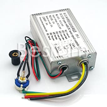 Shanhai Pwm High Power Dc Motor Speed Controller 12v 36v 25a 900w Industrial