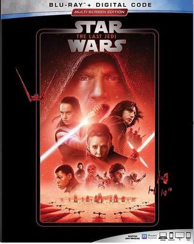 Blu-ray : Star Wars: Last Jedi