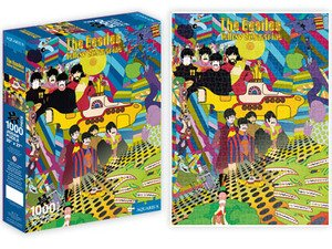 Yellow Submarine Collage Jigsaw Puzzle - The Beatles