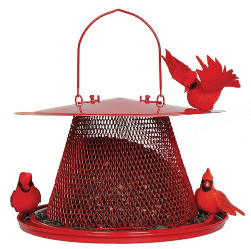Cheap No/No Red Cardinal Bird Feeder  C00322 (NNBC00322)