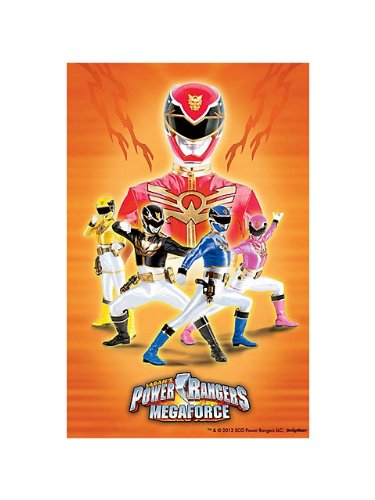 Power Rangers 'Mega Force' Paper Tablecover (1ct)