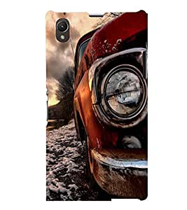 PRINTSWAG CAR PHOTOGRAPHY Designer Back Cover Case for SONY XPERIA Z1