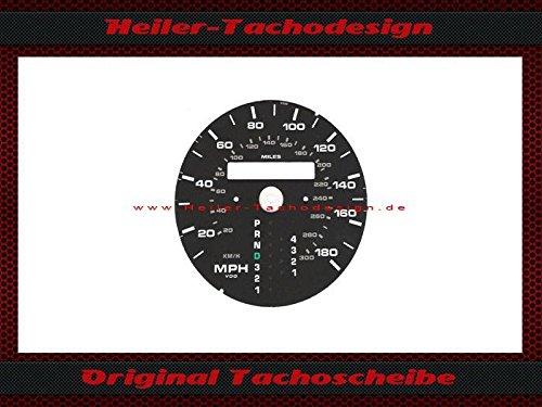 Tachoscheibe Porsche 911 964 993 Automatic Mph zu Kmh