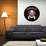 "Motorhead War-Pig march or die Wall Graphic Decal Sticker 22"" x 22"""