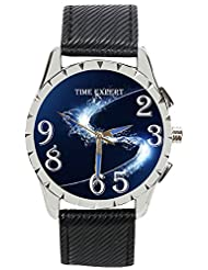 Time Expert Analogue Blue Dial Men's Watch - TE100193