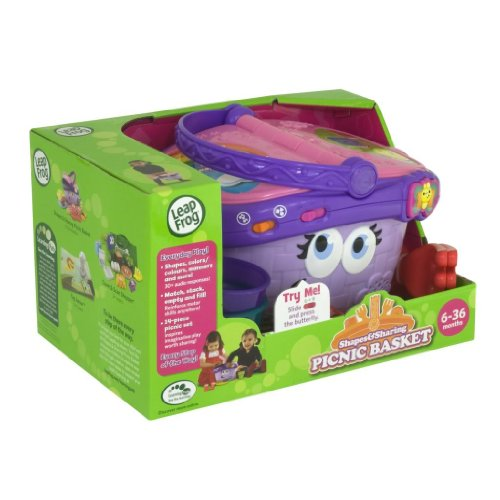 Toy / Game Leapfrog Shapes And Sharing Picnic Basket ( Appropriate For Children Ages 6 To 36 Months ) front-987129