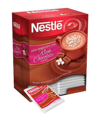Nestle Hot Cocoa Mix, Rich Chocolate With Mini Marshmallows, 0.71-Ounce Packages (Pack Of 300) front-1016441