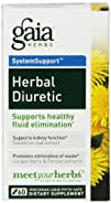 Gaia Herbs Herbal Diuretic Liquid Phyto-Capsules 60 Count