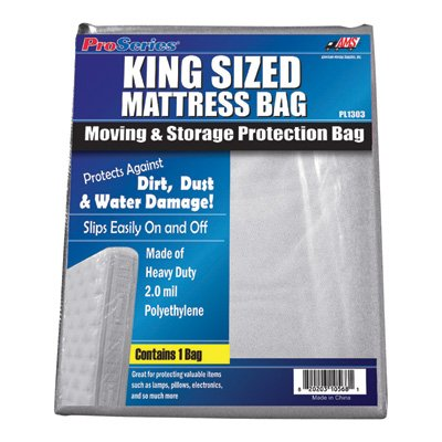Big Save! American Moving Supplies ProSeries Mattress Bag - King size bed, Model# PI1303