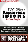 200 More Japanese Idioms Download