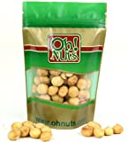 Roasted Salted Hawaiian Macadamia Nuts 1 Pound - Oh! Nuts