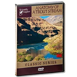 Scientific Anglers Anatomy of a Trout Stream DVD Video Fly Fishing Guide