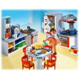 Playmobil Kitchen with Diner