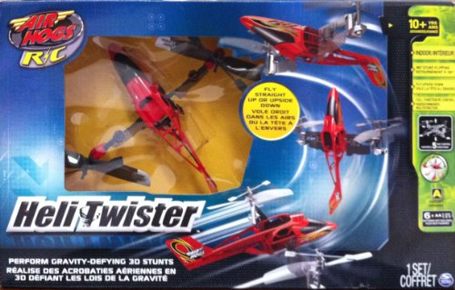Air Hogs Red Heli Twister Radio Control Helicopter - Red