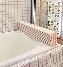太陽合成 風呂ふた カルパッタ L14 防カビ加工 ピンク 75×140