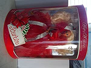 1988 HAPPY HOLIDAYS BARBIE - 1ST IN COLLECTIBLE SERIES