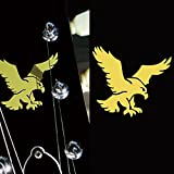 Inlay Sticker Decal For Guitar Grateful Dead Jerry Garcia's - Wolf Eagle (Gold)