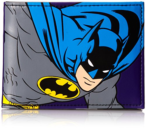 DC Comics Men's Batman Good Vs Evil Bi Fold Wallet at Gotham City Store