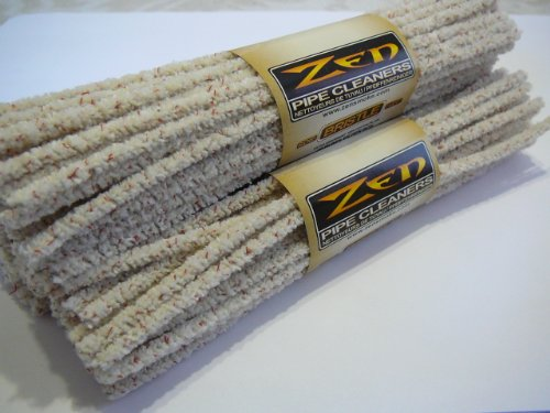 3 Bundle ZEN Pipe Cleaners Hard Bristle - 44 Count x3=132 Count