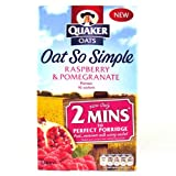 Quaker Oat So Simple Raspberry & Pomegranate 334g