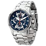 Jorg Gray JG8500-22 Round Watch with Solid Stainless Steel Bracelet with Safety Clasp from Jorg Gray