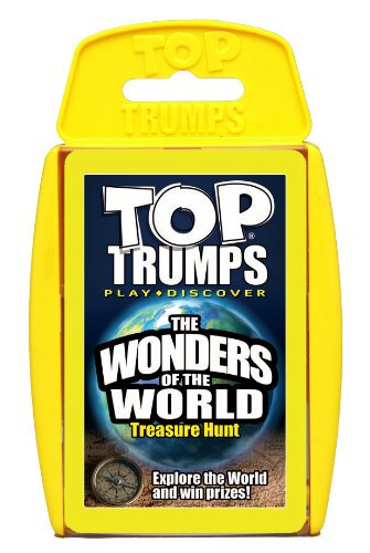Winning Moves Top Trumps Classics Wonders Of The World Card Game