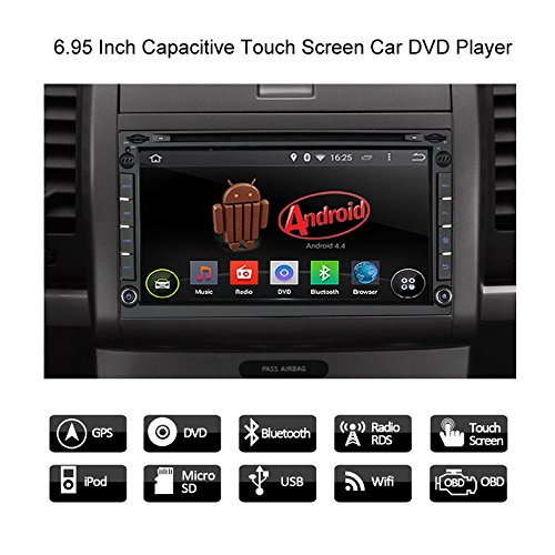 best car dvd player dual screen