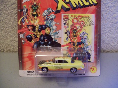 Johnny Lightning Marvel Comics X-Men 1955 Chrysler C-300 - 1